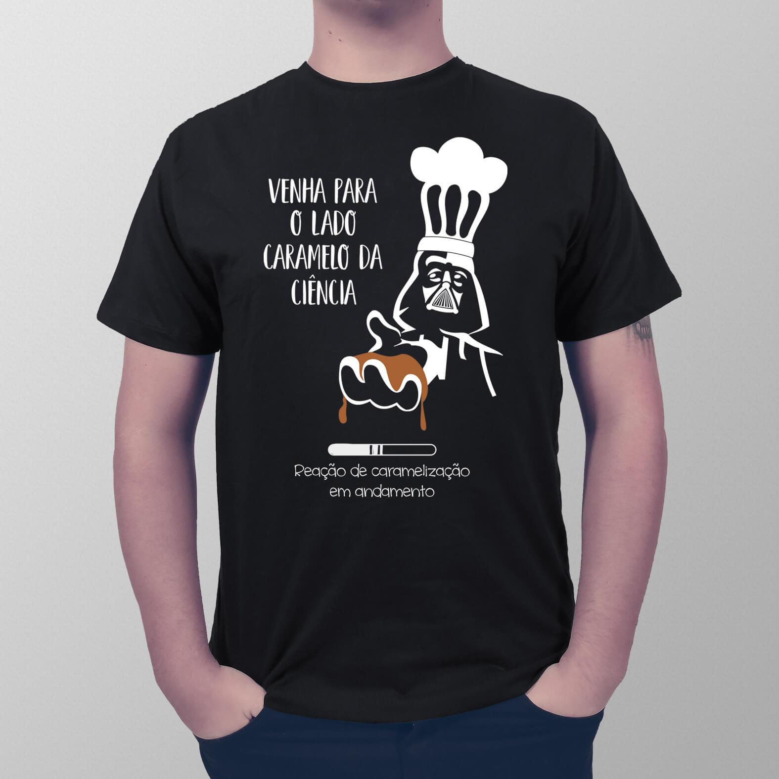 Camiseta Lado Caramelo da Força