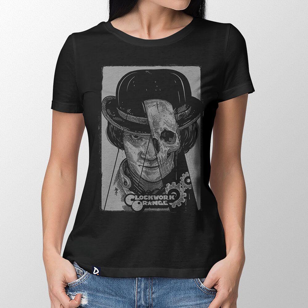 Camiseta Laranja Mecânica - Feminino