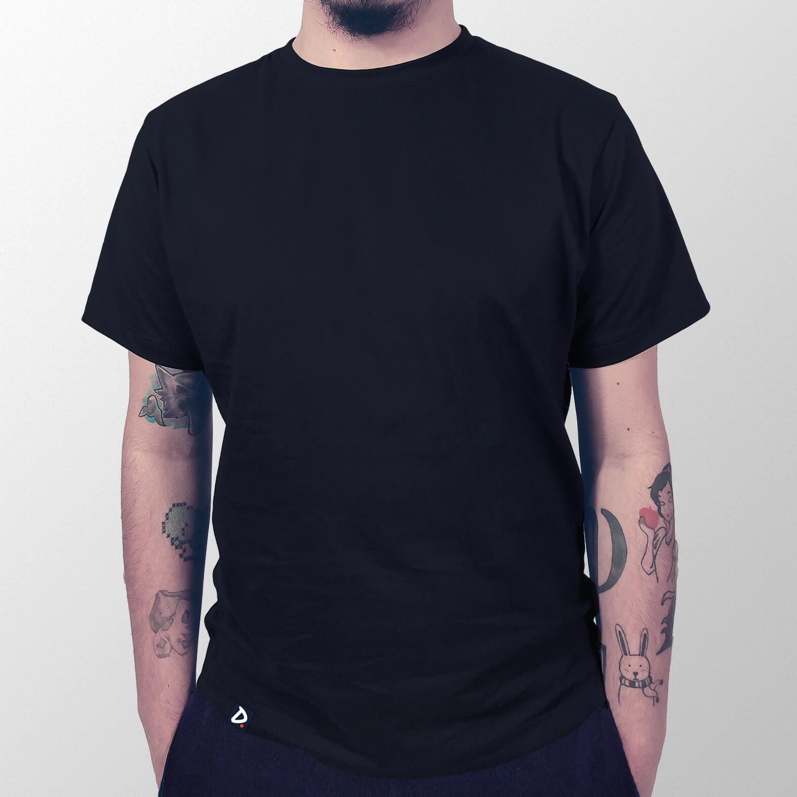 Camiseta Lisa Preta