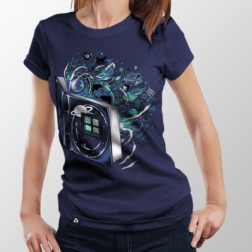 Camiseta Literatura Nerd - Feminino