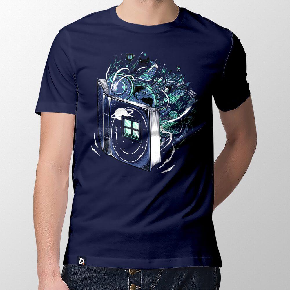 Camiseta Literatura Nerd - Masculino