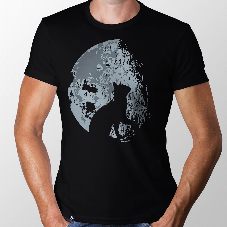 Camiseta Lua Felina