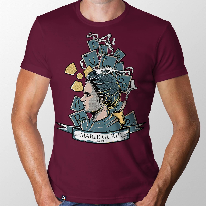 Camiseta Marie Curie