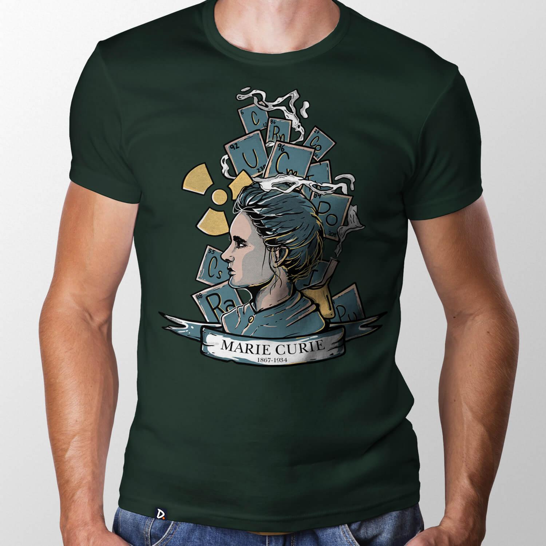 Camiseta Marie Curie - Masculino