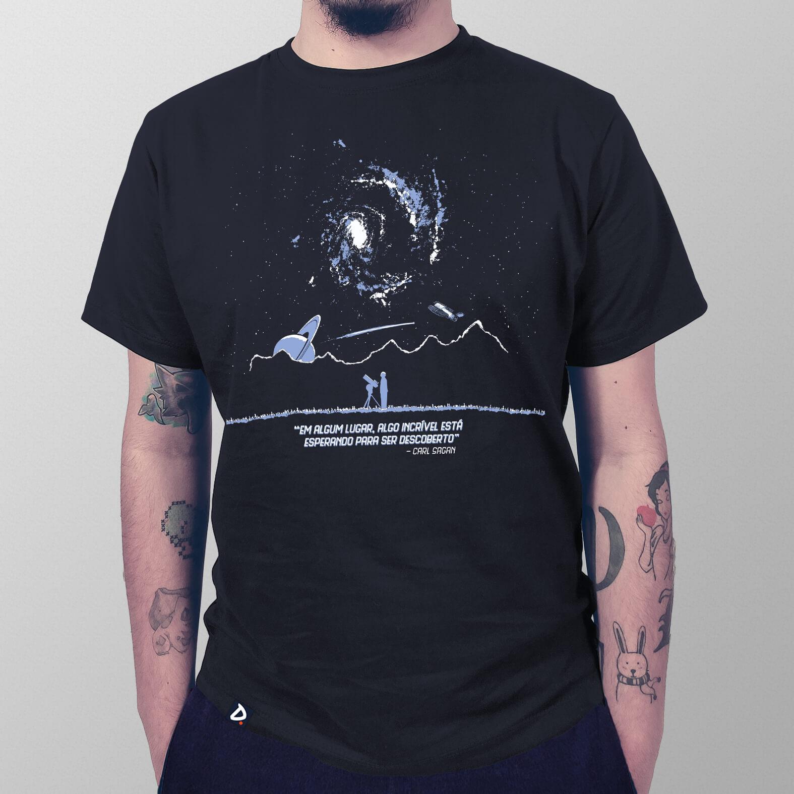 Camiseta Masculina Algum Lugar