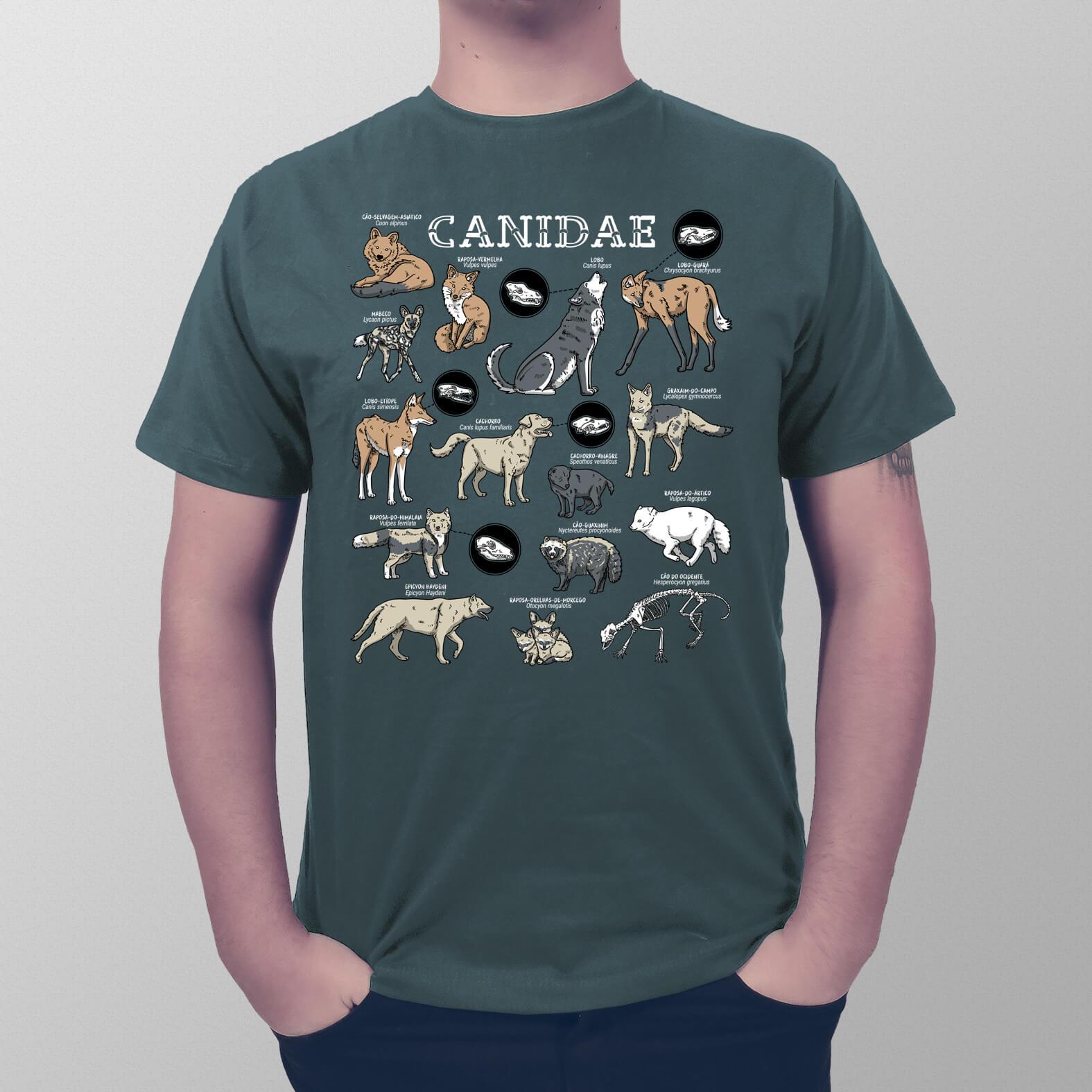 Camiseta Masculina Canidae