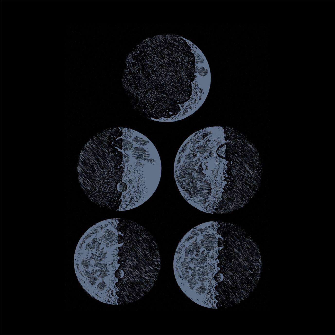 Camiseta Masculina Fases da Lua