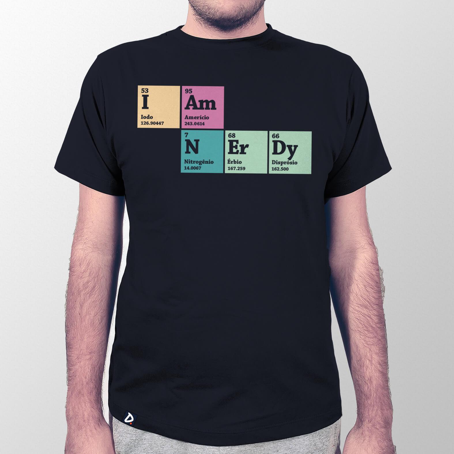 Camiseta Masculina I Am Nerdy