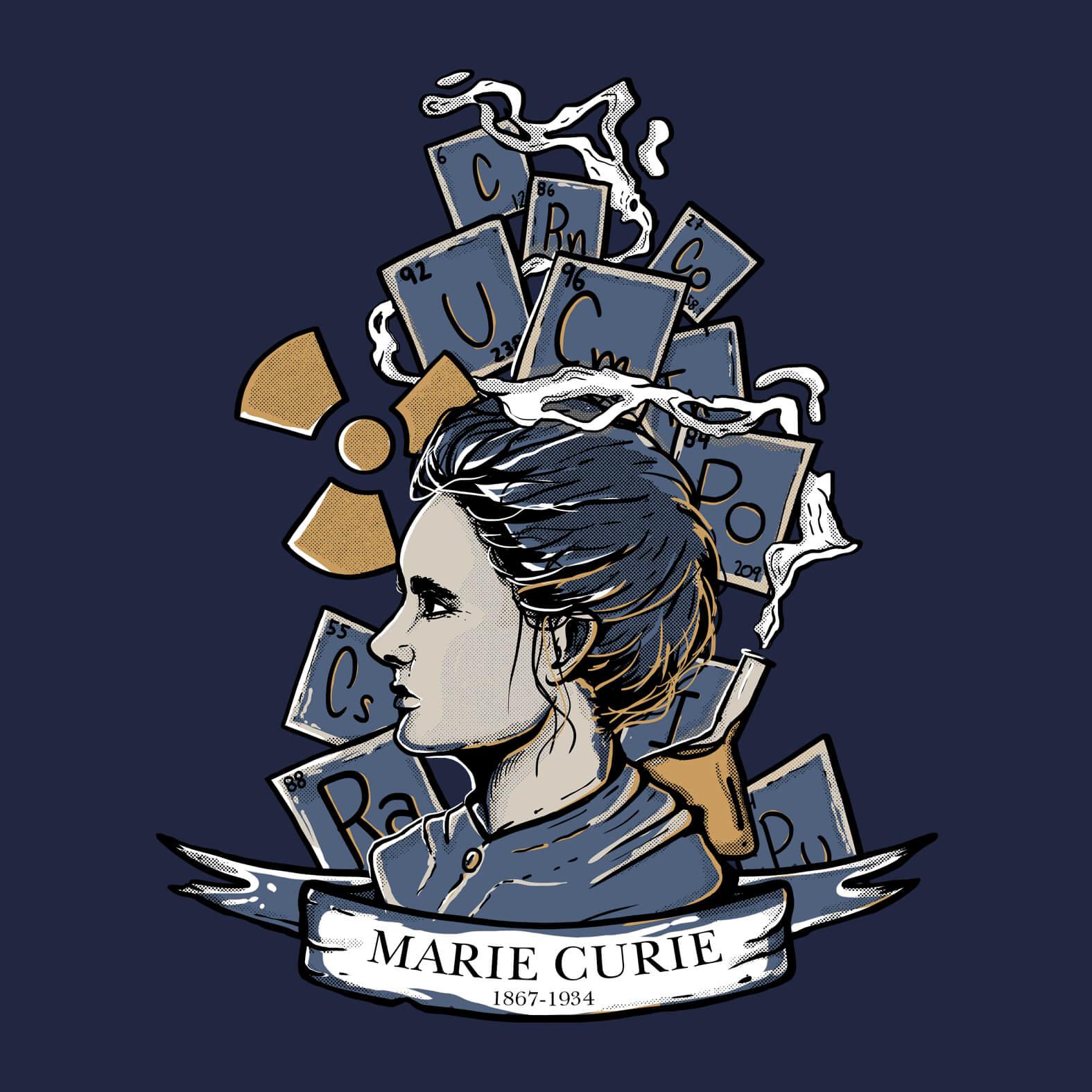 Camiseta Masculina Marie Curie