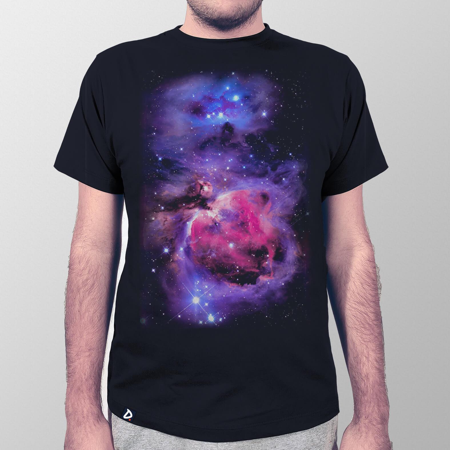 Camiseta Masculina Nebulosa de Órion