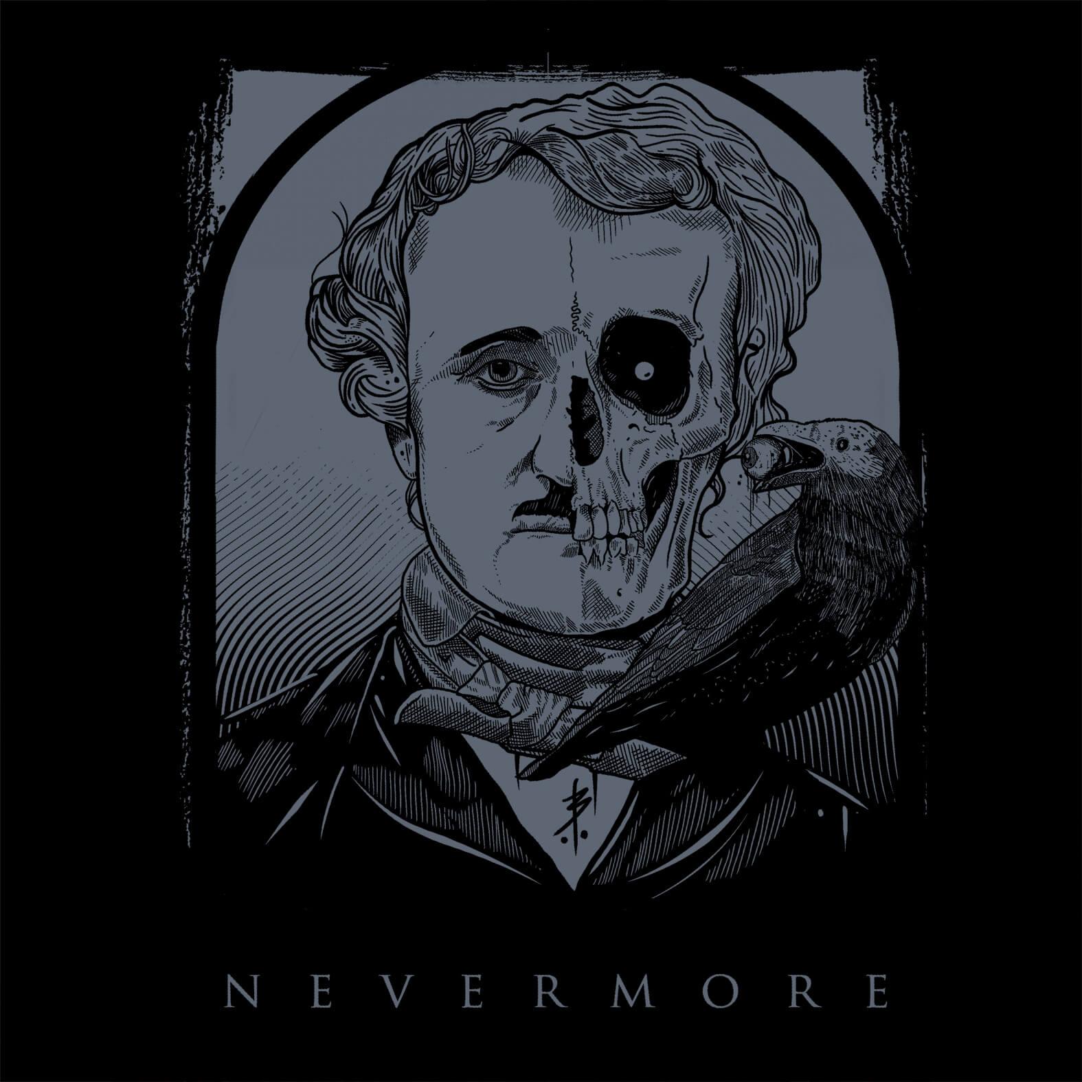 Camiseta Masculina Nevermore