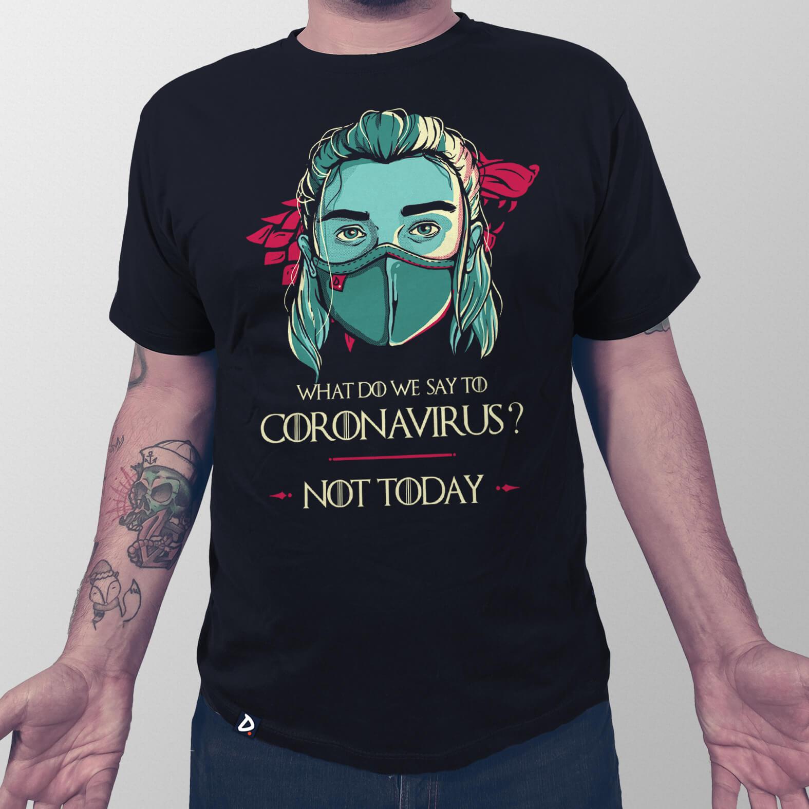 Camiseta Masculina Not Today