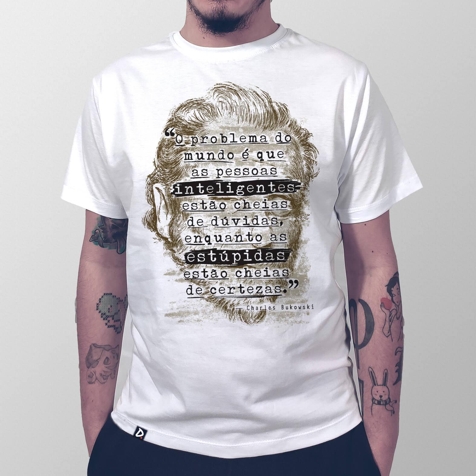 Camiseta Masculina O Problema