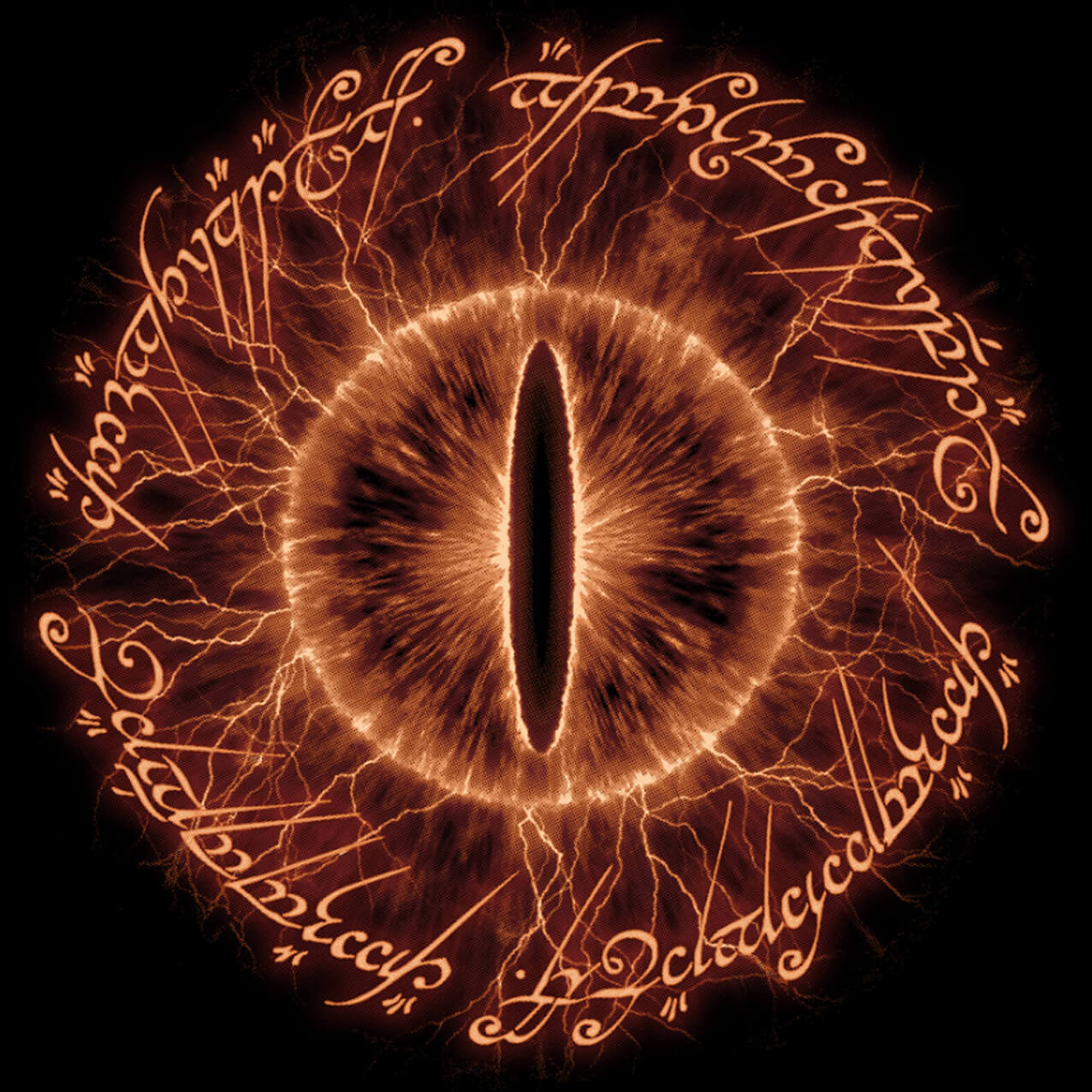 Camiseta Masculina Poema do Anel Sauron Edition