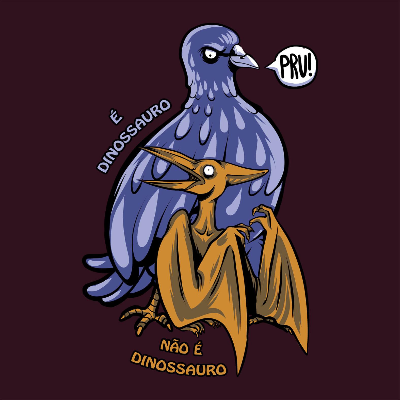Camiseta Masculina Pombossauro