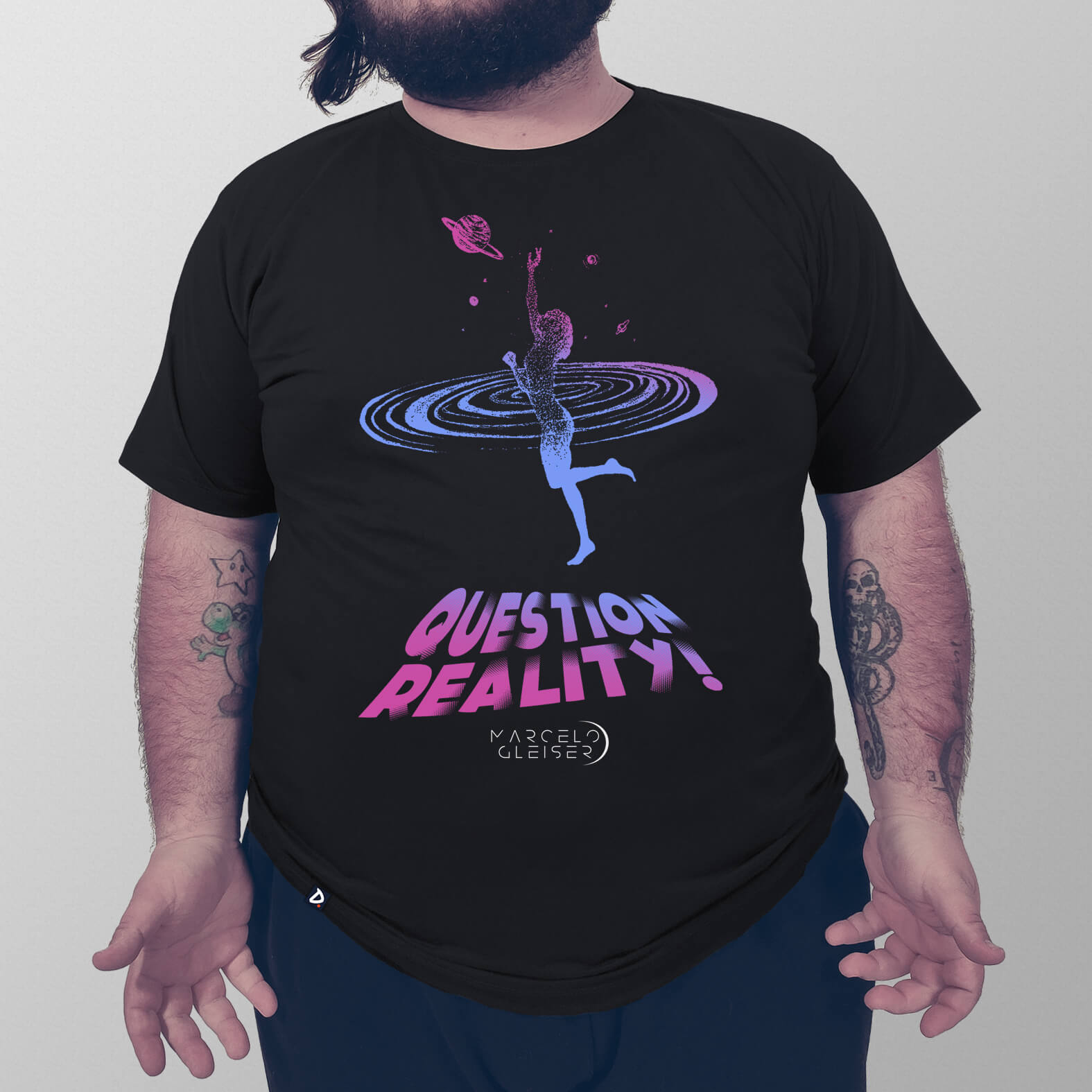 Camiseta Masculina Question Reality