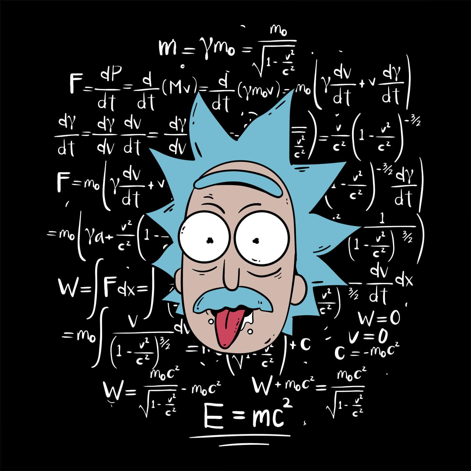Camiseta Masculina Rick Einstein