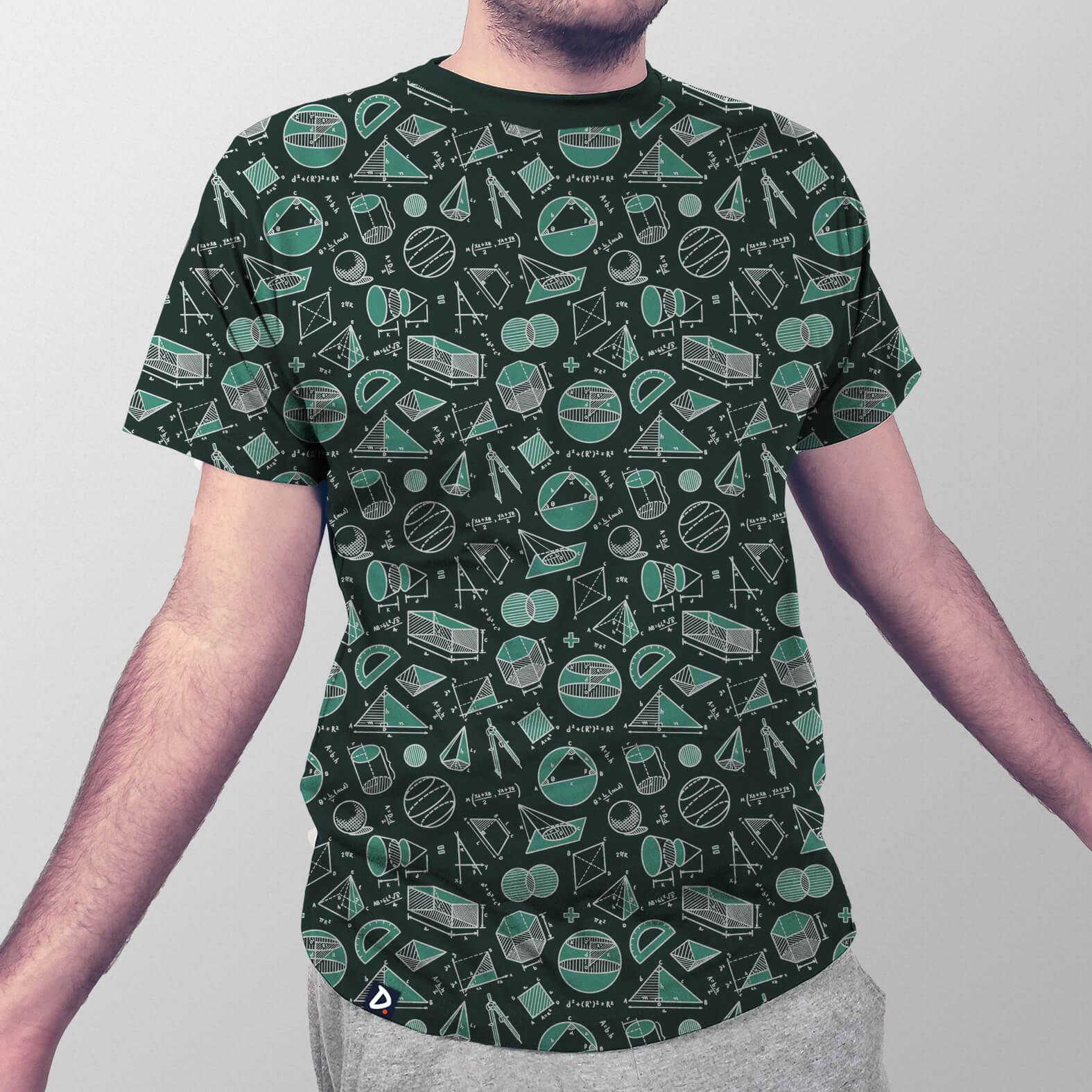 Camiseta Masculina Total Geometria
