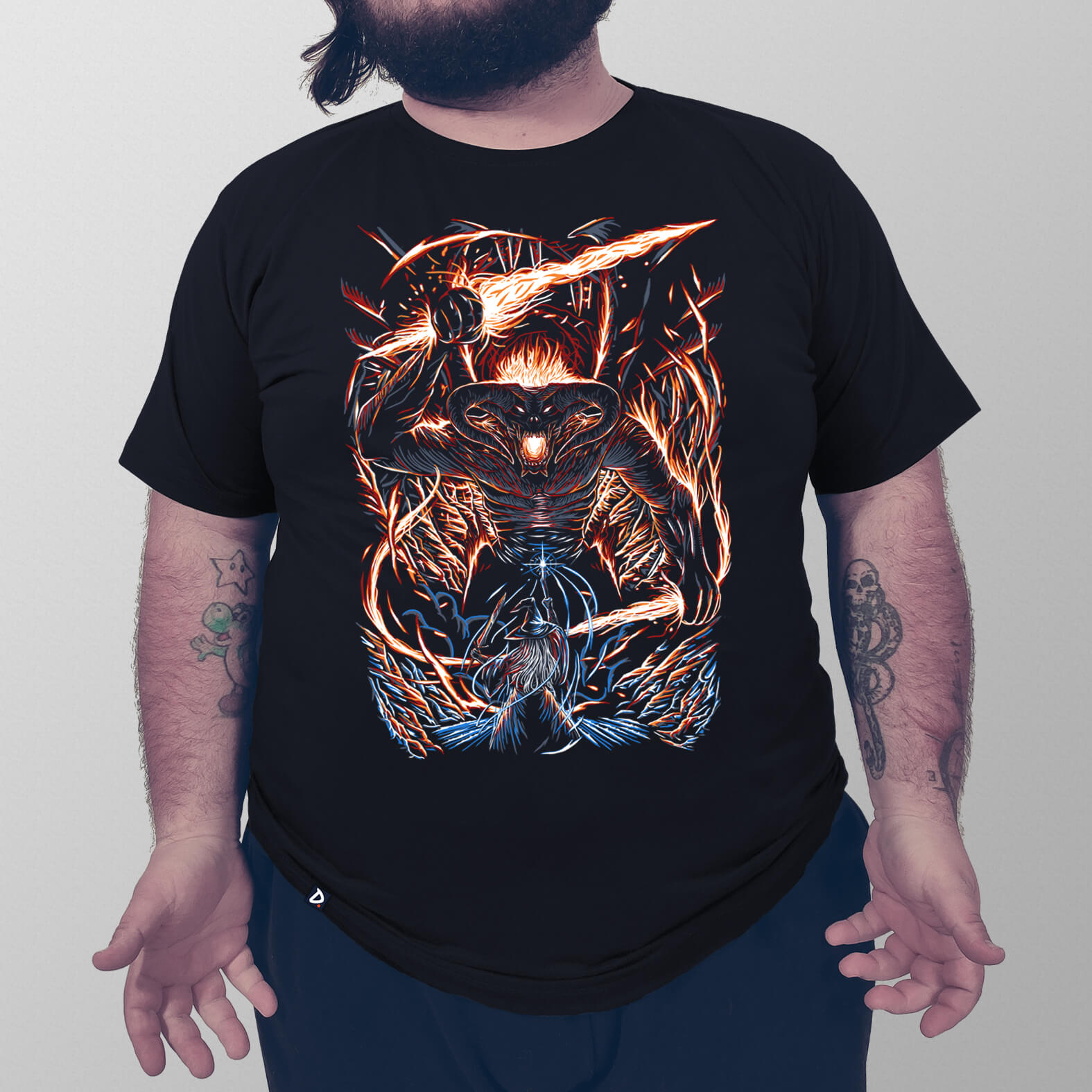 Camiseta Masculina You Shall Not Pass
