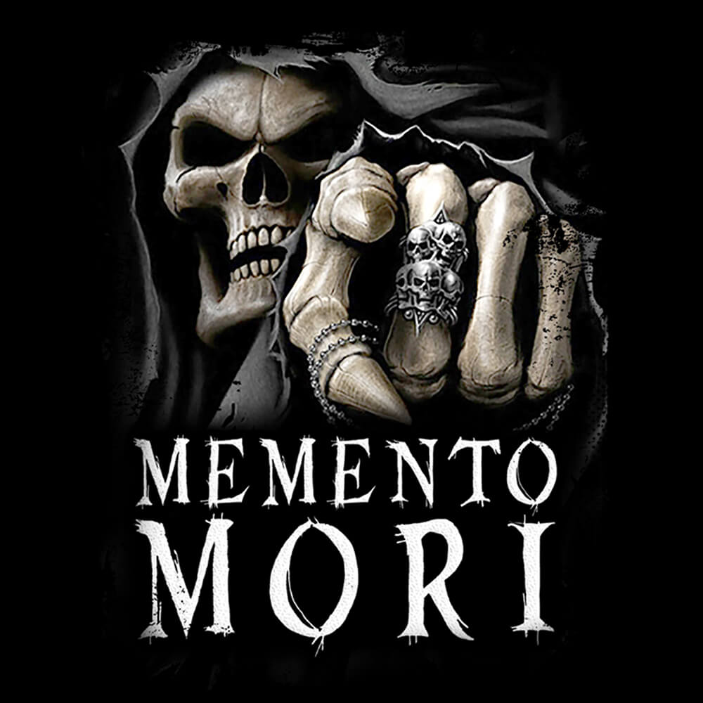 Camiseta Memento Mori - Feminino