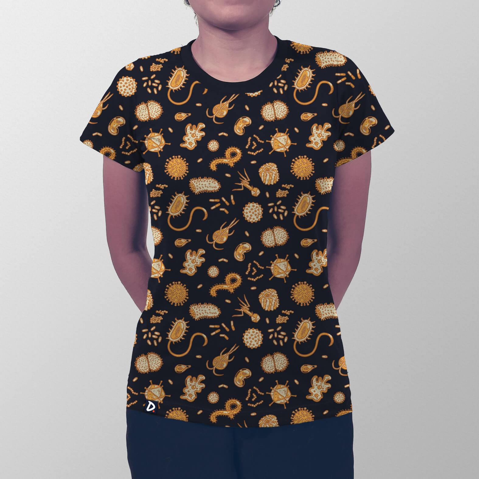 Camiseta Total Microbiologia