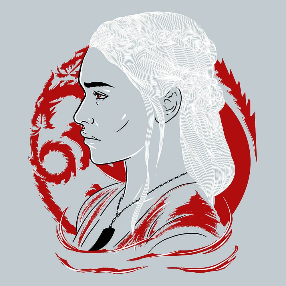 Camiseta Mother of Dragons - Feminino