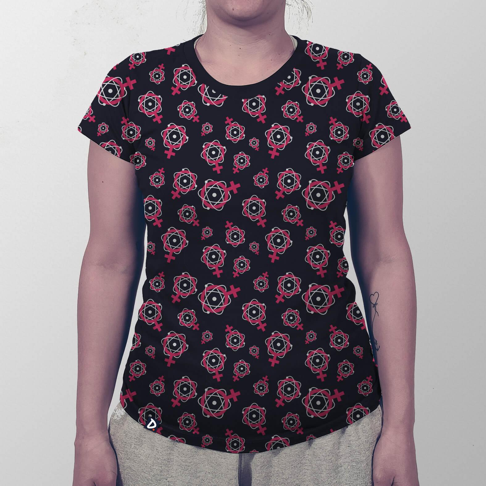 Camiseta Mulheres na Ciência Total