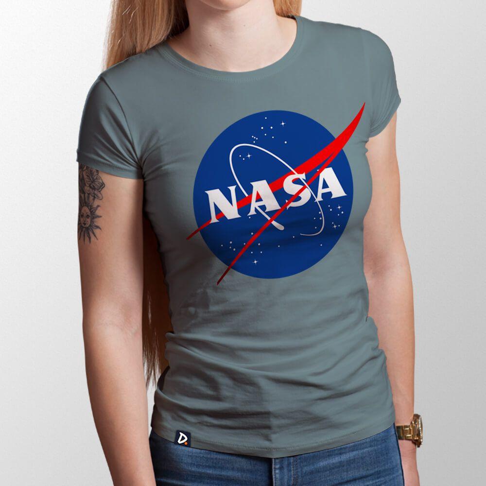 380abb5c9 Camiseta NASA - Feminino - Doppel Store