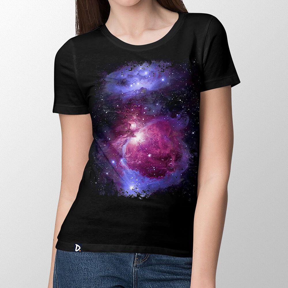 Camiseta Nebulosa de Órion - Feminino