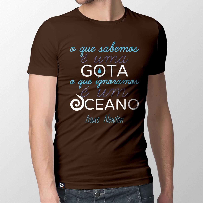 Camiseta O Que Sabemos - Masculino