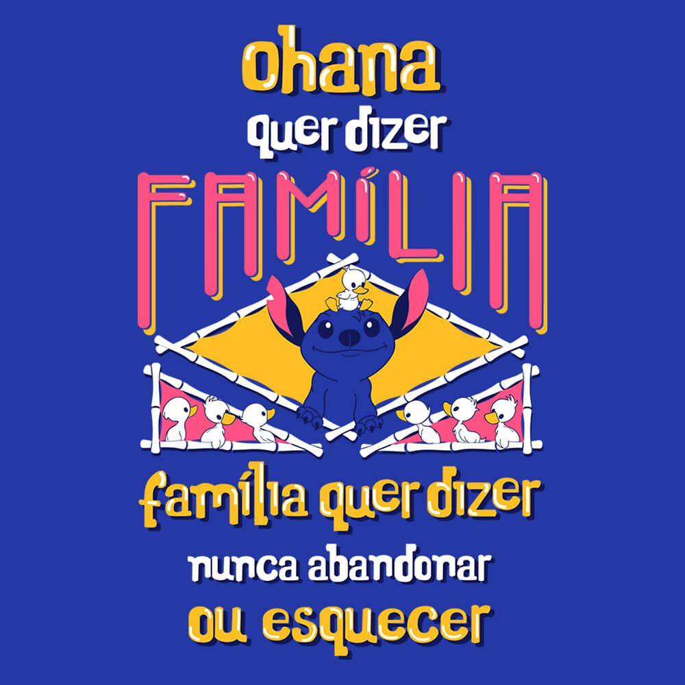 Camiseta Ohana - Feminino
