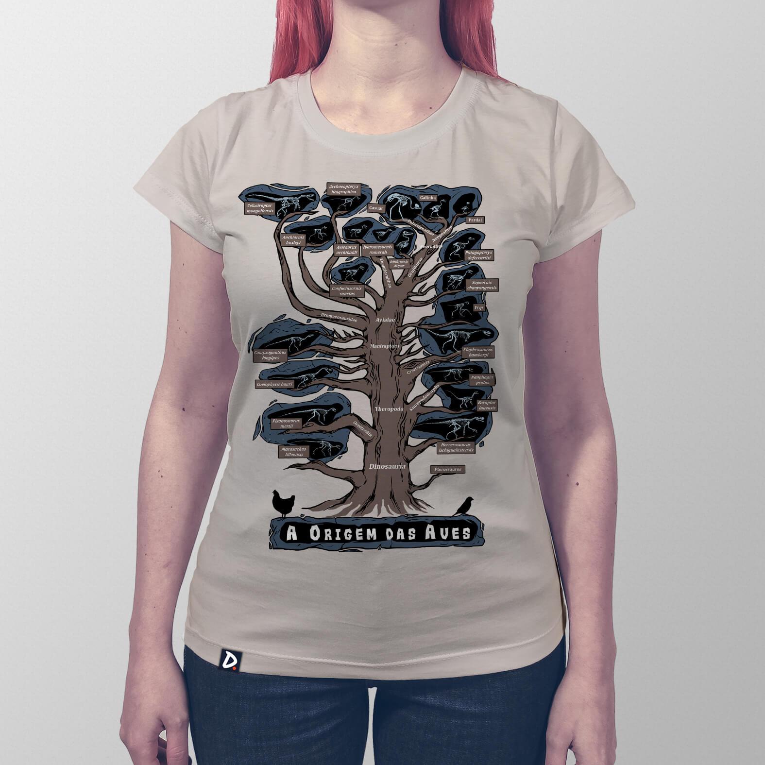 Camiseta Origem das Aves
