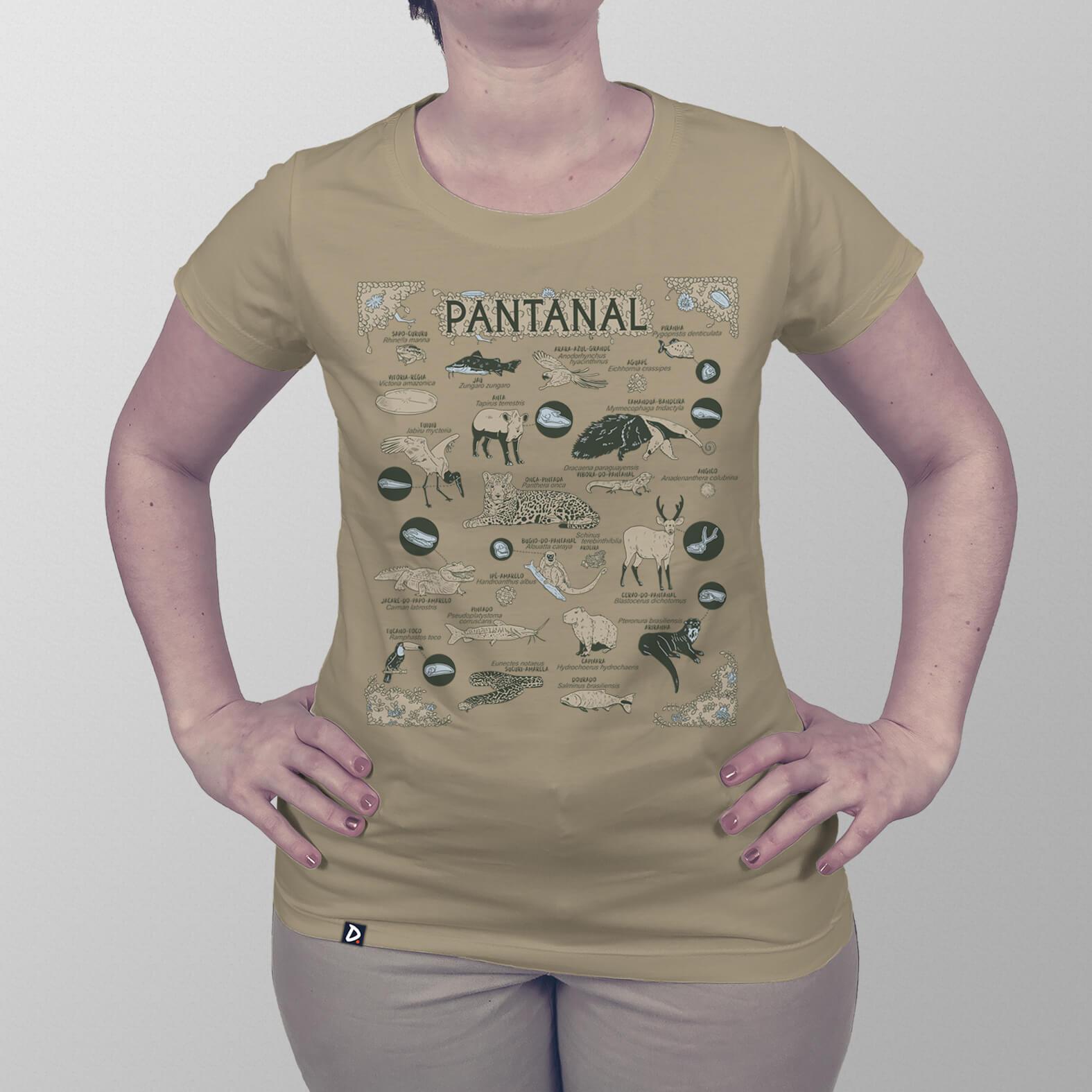 Camiseta Pantanal