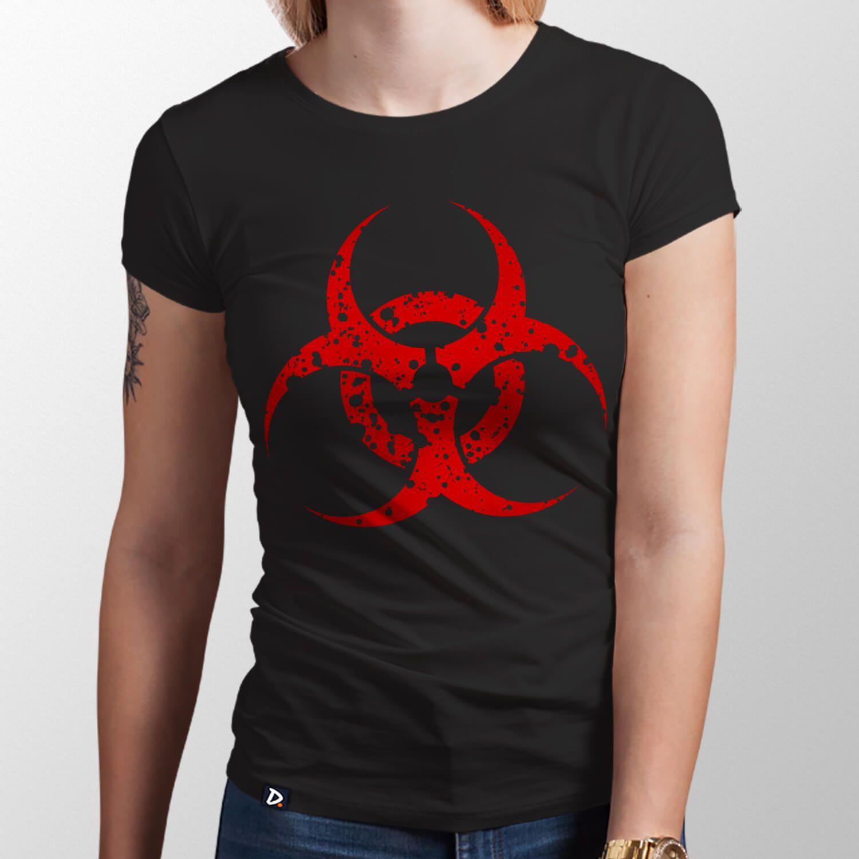 Camiseta Risco Biológico - Feminino
