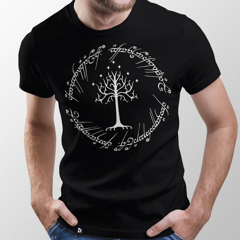 Camiseta Poema do Anel