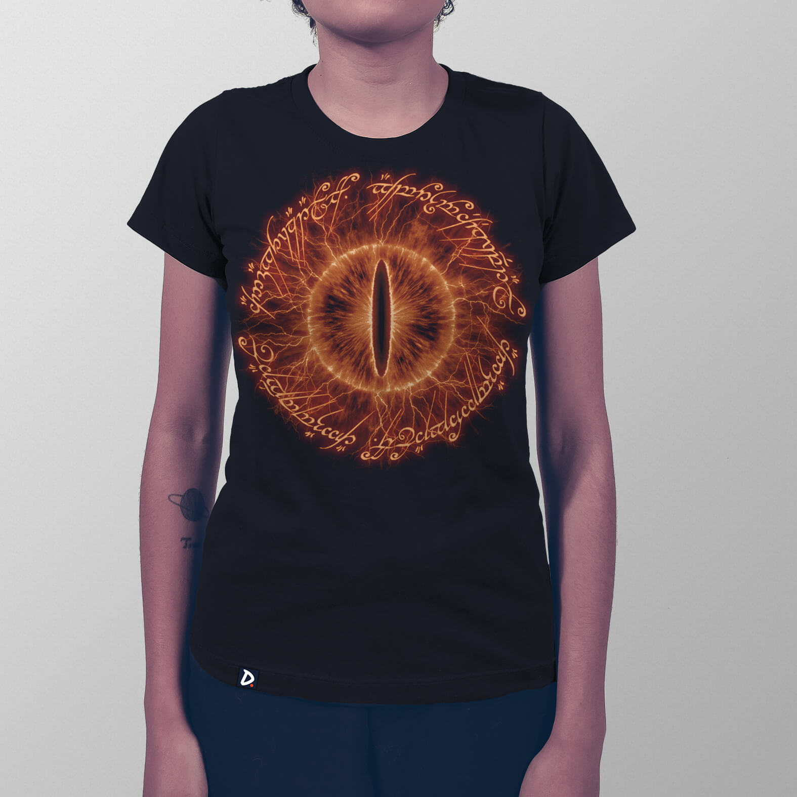 Camiseta Poema do Anel Sauron Edition