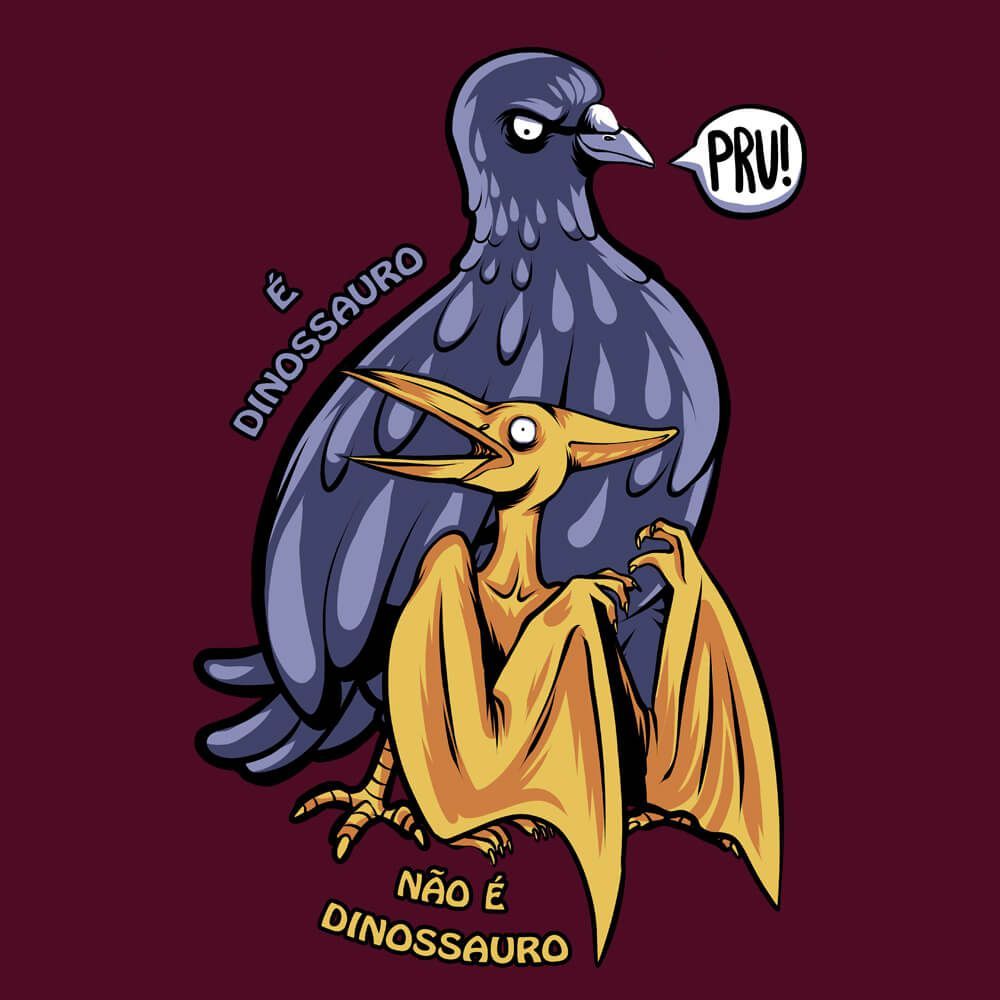 Camiseta Pombossauro - Feminino