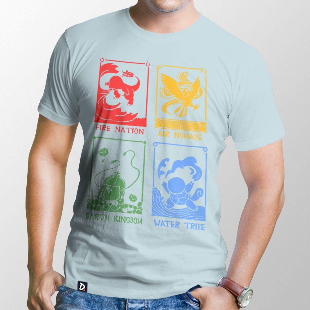Camiseta Quatro Nações - Masculino