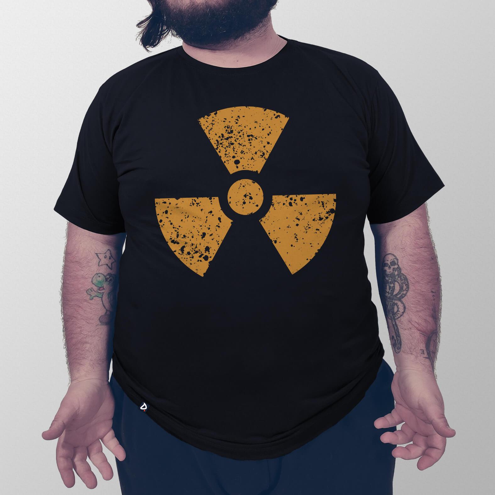 Camiseta Radioativa
