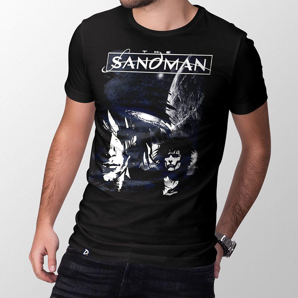 Camiseta Sandman - Masculino