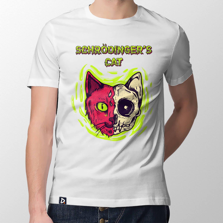 Camiseta Schrödinger's Cat - Masculino
