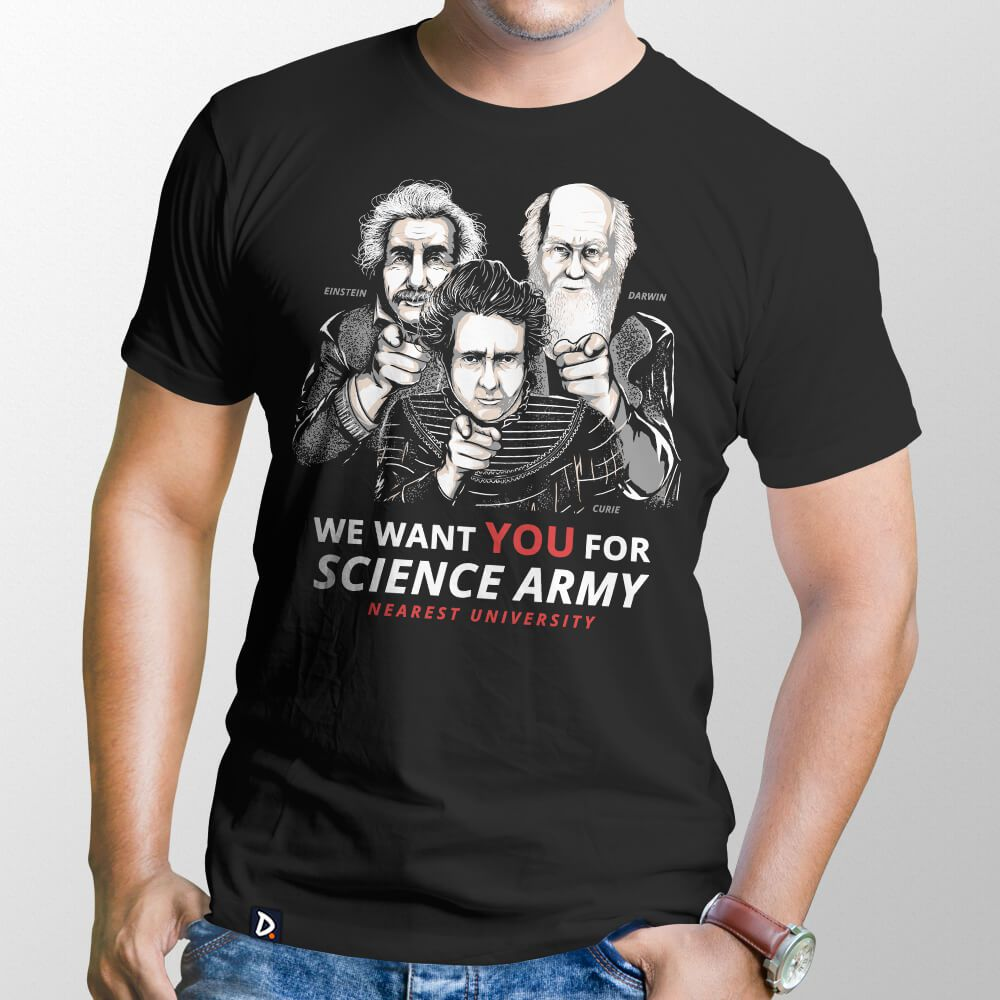 Camiseta Science Army - Masculino