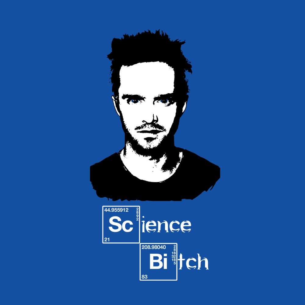 Camiseta Science Bitch - Masculino
