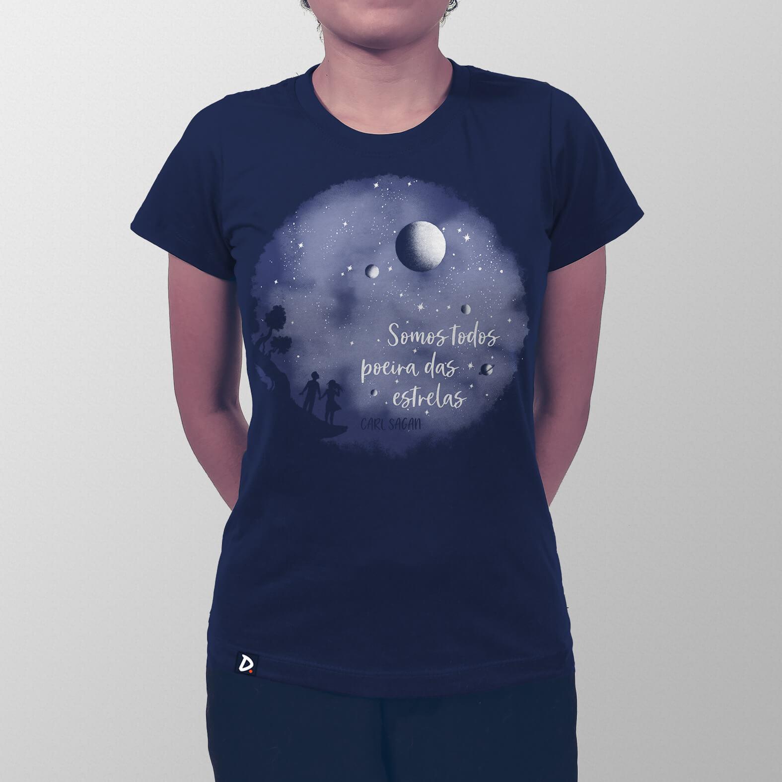 Camiseta Somos Poeira das Estrelas