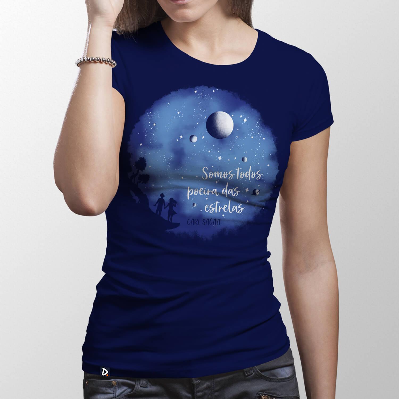 Camiseta Somos Poeira das Estrelas - Feminino