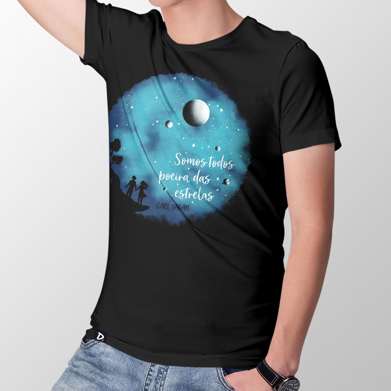 Camiseta Somos Poeira das Estrelas - Masculino