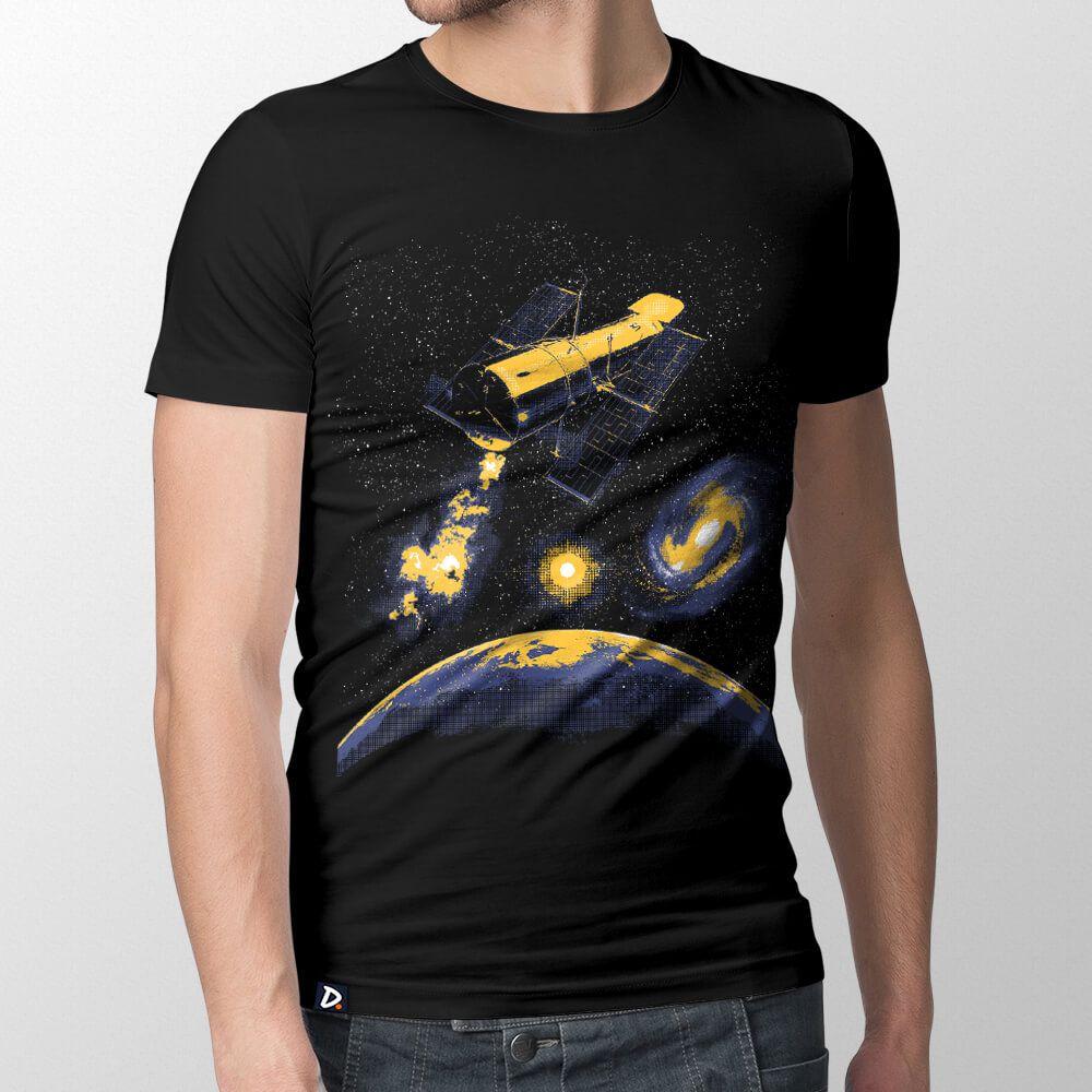 Camiseta Telescópio Hubble - Masculino