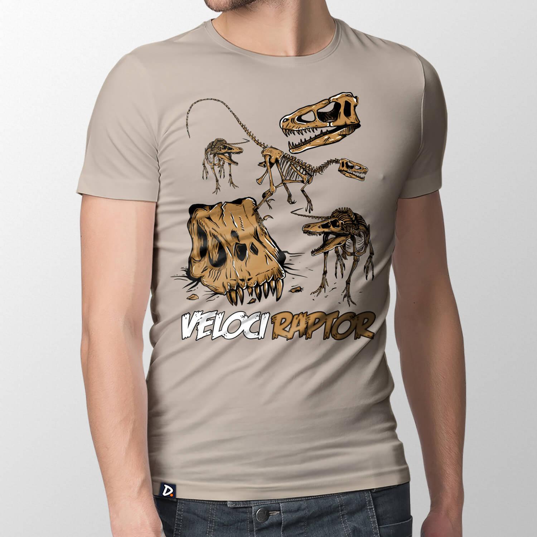 Camiseta Velociraptor