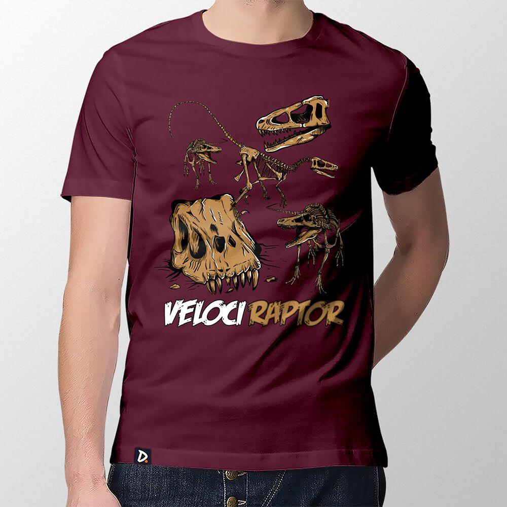 Camiseta Velociraptor - Masculino