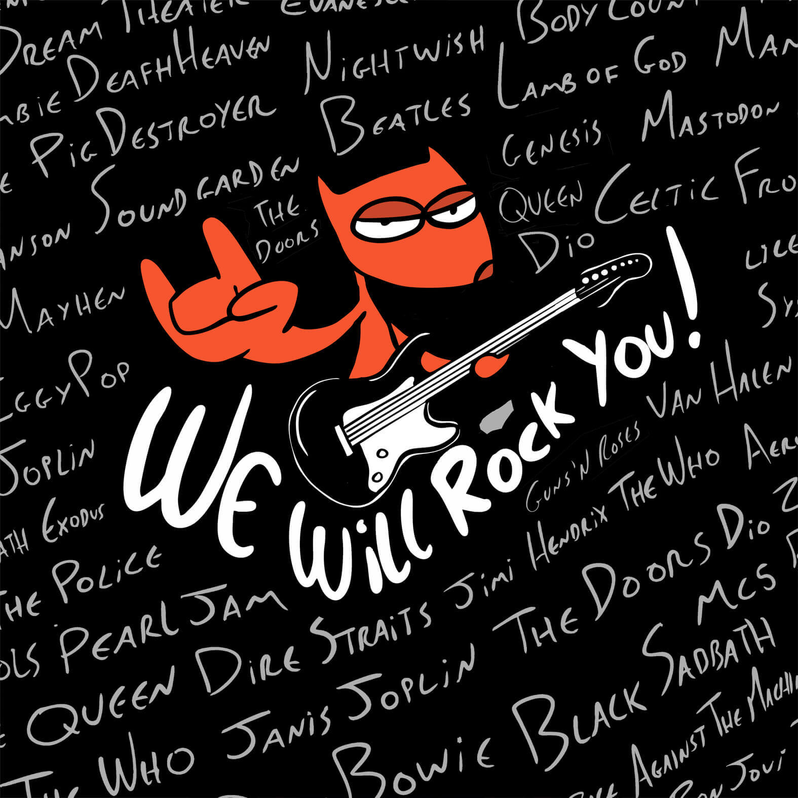 Camiseta Total We Will Rock You